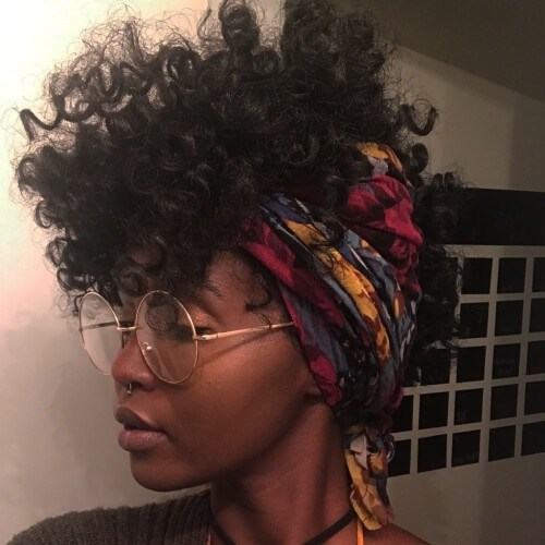 Peinados con capucha