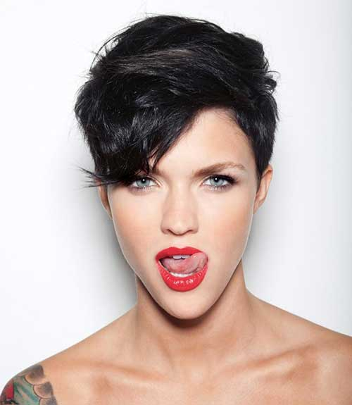Ruby Rose Pixie Hair