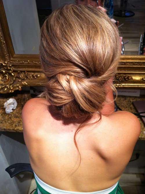 Peinados de moño-14