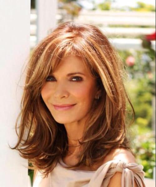 80 Peinados Sobresalientes Para Mujeres Mayores De 50 Años Largo