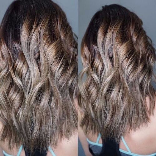 Dramatic Ash Blonde Ombre