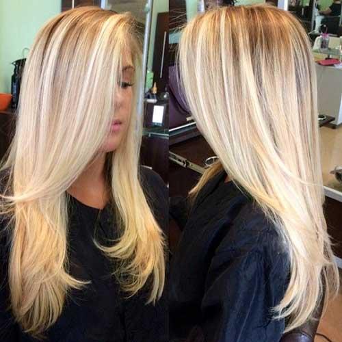 Cortes de pelo largos en capas-6