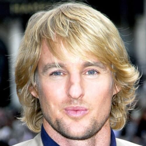 Shaggy Hairstyles para hombres mayores de 40 años