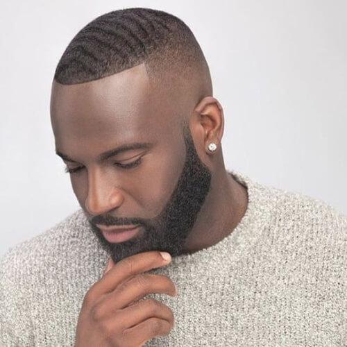 Peinados de línea para hombres con líneas rectas