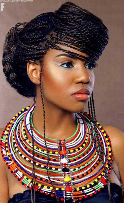 Peinados trenzados africanos