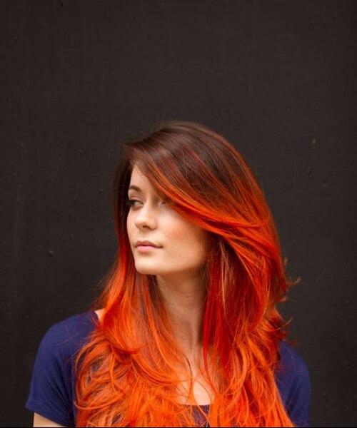 urbano ombre pelo rojo