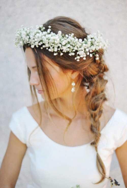 Peinados bonitos de la boda de la corona