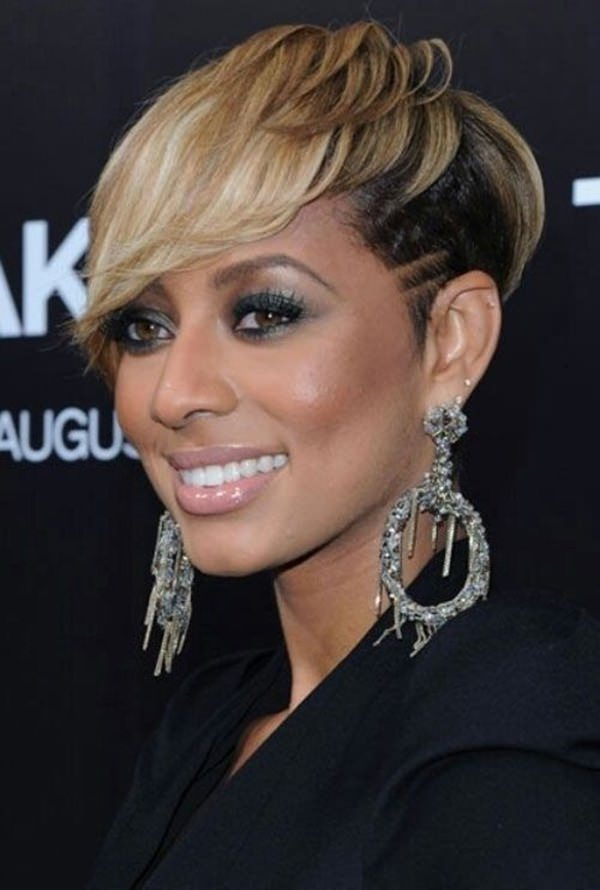 peinados cortos para mujeres negras 61