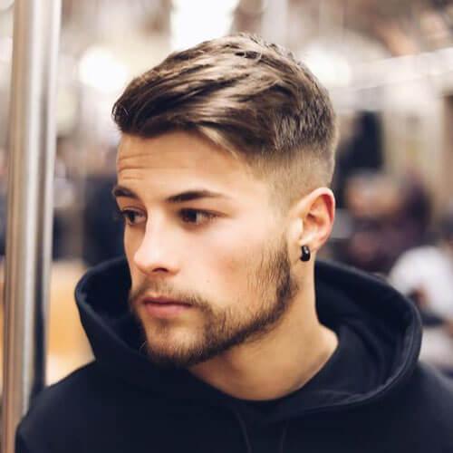 Peinados populares para hombres con cabello grueso