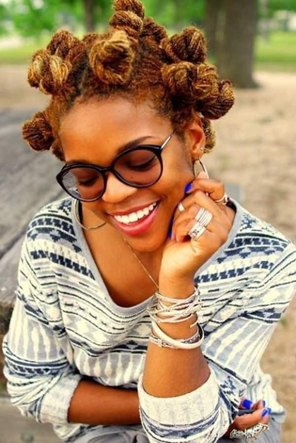 peinados cortos para mujeres negras 58