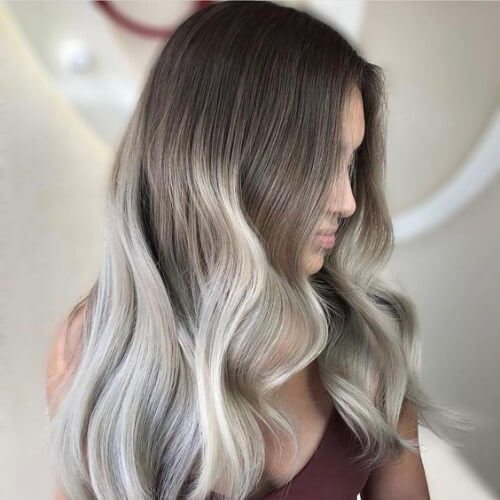 platino en ray blonde highlights y lowlights
