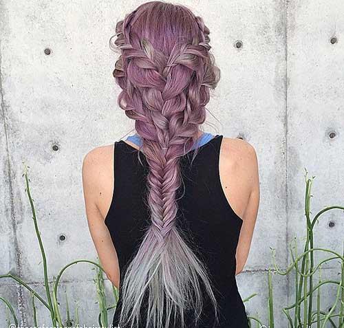 Fishtail trenzas peinados