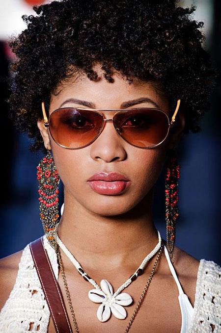Cortes de pelo cortos para mujer negra - 7