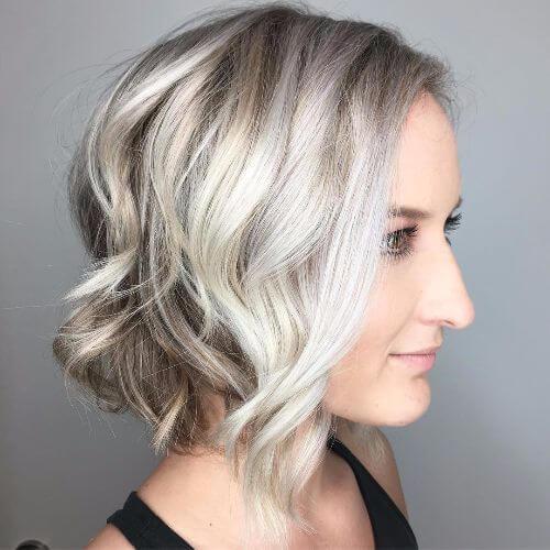 corte de peinado medio bob