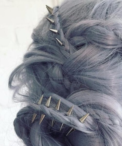 picos boda peinados para cabello largo
