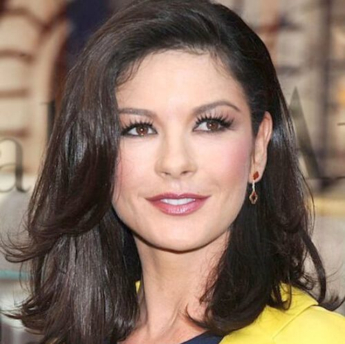 cortes de pelo catherine zeta jones
