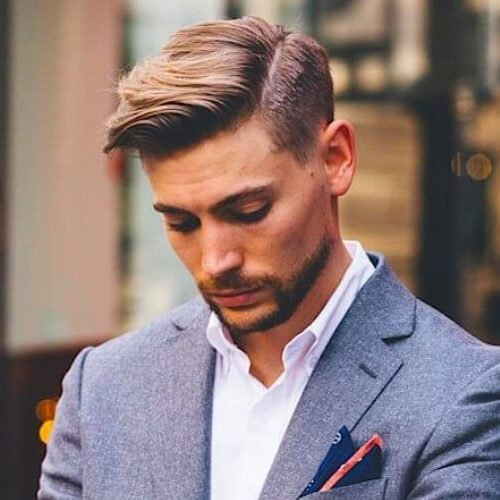 Cortes de pelo cortos para hombres con peines excesivos