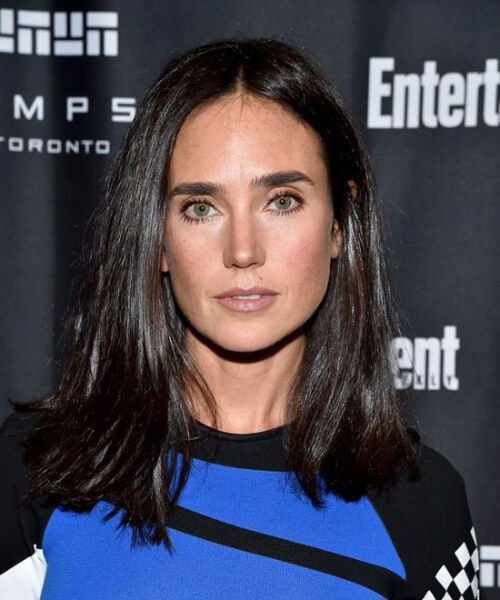 peinados jennifer connely para mujeres mayores de 40