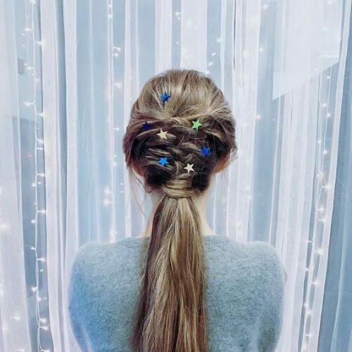 peinados de vacaciones para el pelo lacio