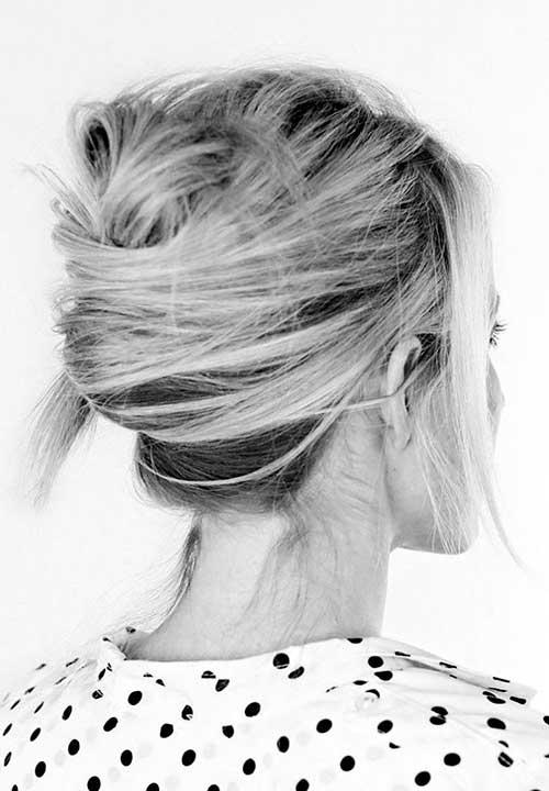 French Bun Hair-17