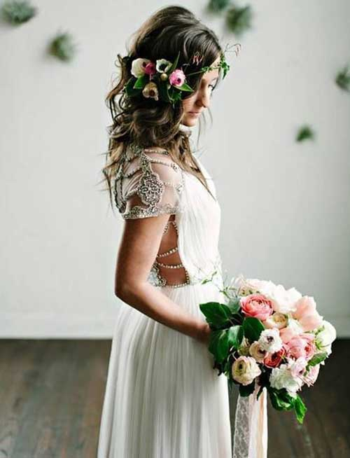 Imágenes de Boho Wedding Hair