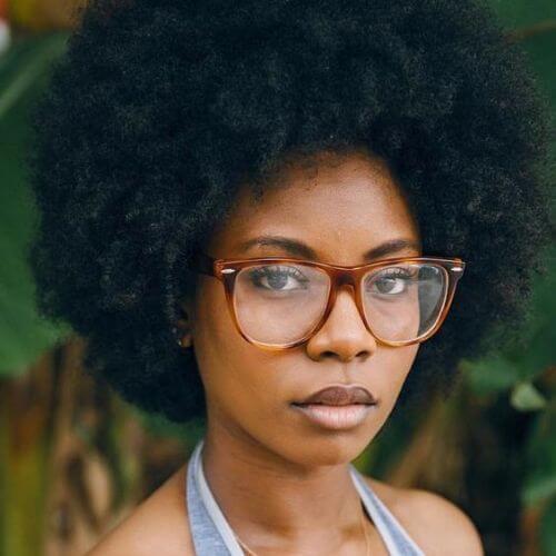peinados afro naturales