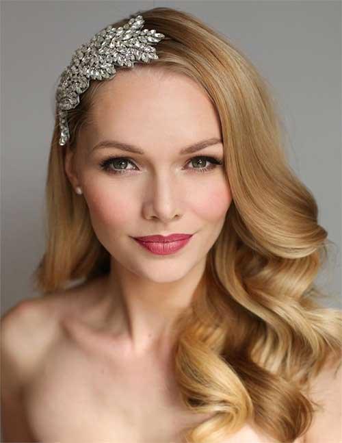 Estilos de cabello de la boda para cabello largo-23