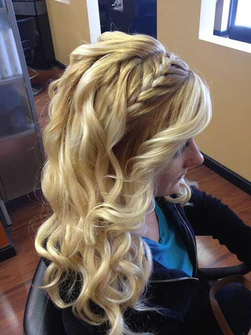 Peinados trenzados impresionantes