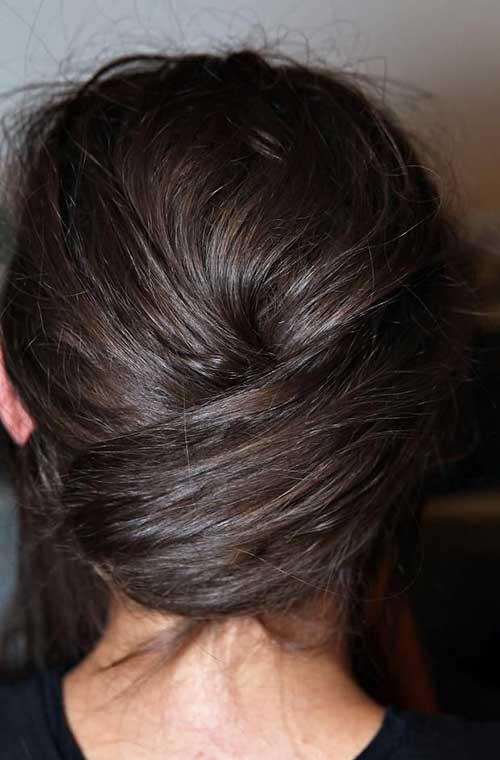 French Bun Hair-12