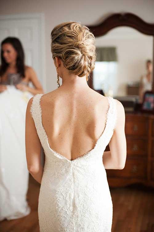 Peinados de boda Pretty Updo