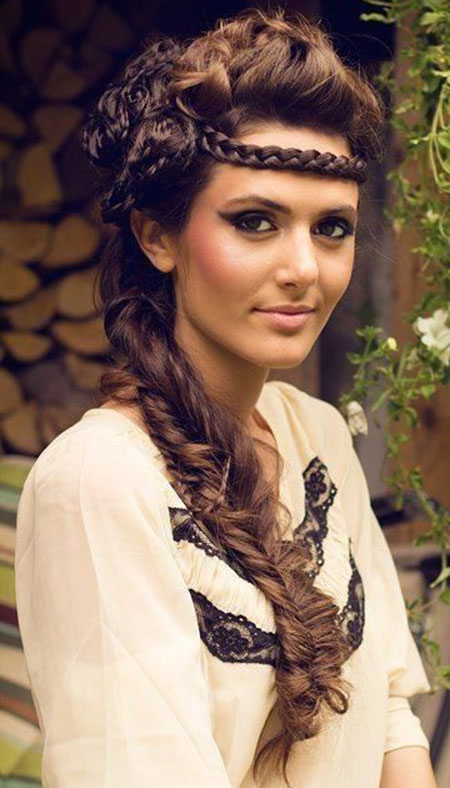 Trenzas para imágenes de cabello largo_15