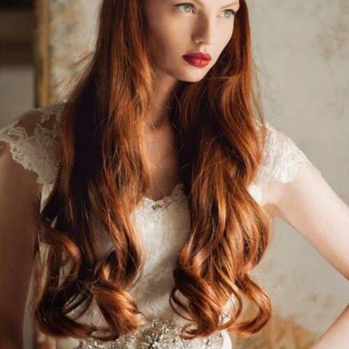 Copper Red Hair vintage