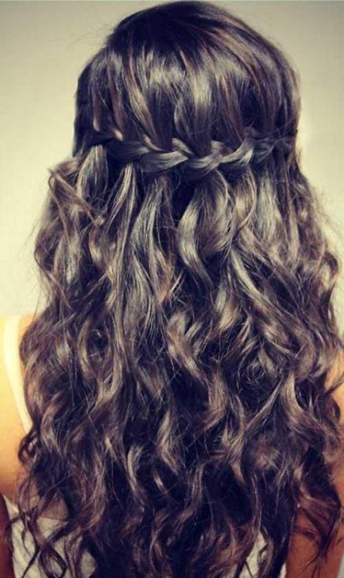 Peinados rizados para mujeres