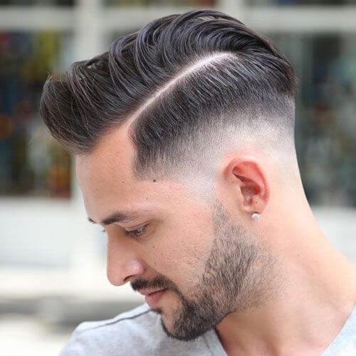 Taper Fade Hard Hair Haircut