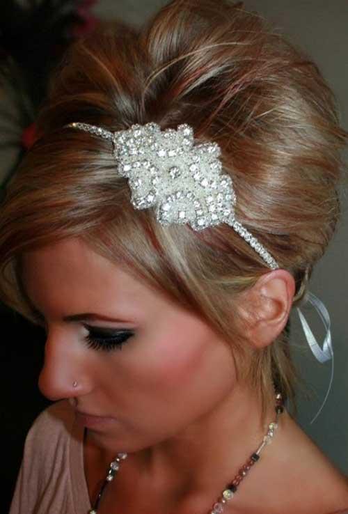 Piezas de la cabeza de la boda de la flor