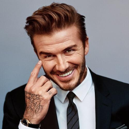 Peinados con clase de David Beckham