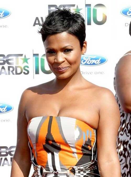 Peinados de Pixie cortos afroamericanos