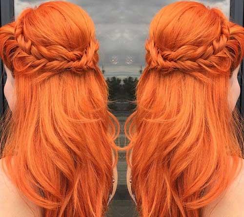 Colores rojos para el cabello