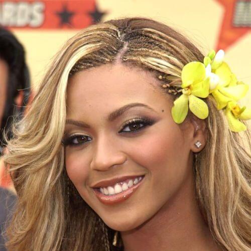 trenzas del árbol de Beyonce