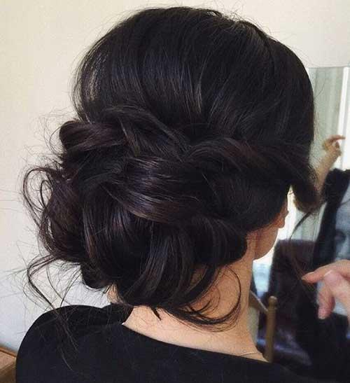 Peinados de moño