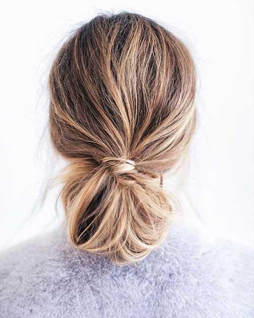 Moño Peinados Mujer