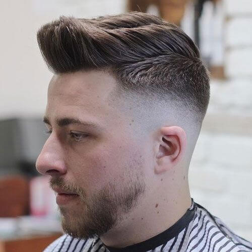 Fringe Up Box Fade