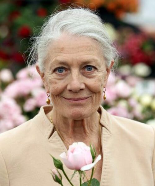 Peinados Vanessa Redgrave para mujeres mayores de 60 años
