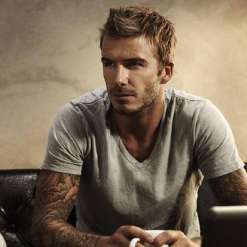 Fohawk David Beckham Peinados