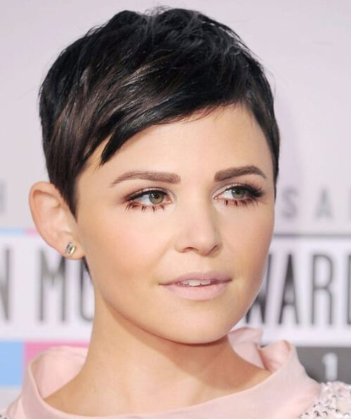 Ginnifer Goodwin corte de duende largo
