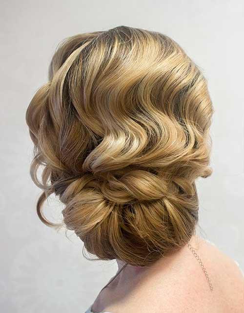 Finger Waves Wedding imágenes de cabello