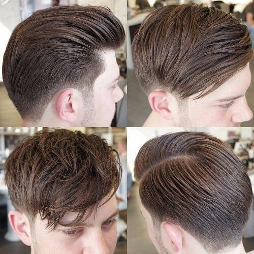 corte de pelo falso del halcón