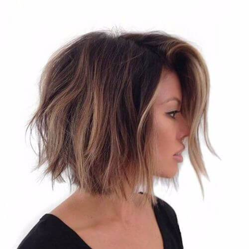 balayage bob corte de pelo