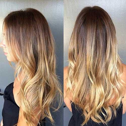 Ideas para el cabello de fusión de color