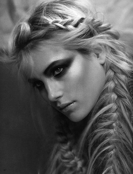 Trenzas para imágenes de cabello largo_9